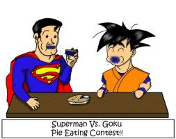 Superman Vs. Goku by jornas