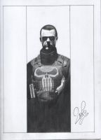 Punisher - Pencils by jpaolonovelli