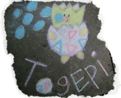 Chalk Togepi by Oceayo