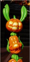 Disney Pumpkins by Cassiopeeh