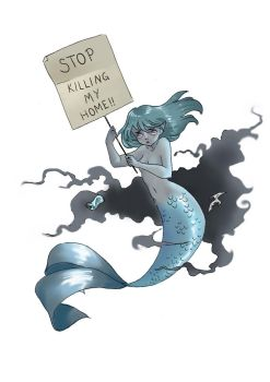 Mermay day 24 by Louielei