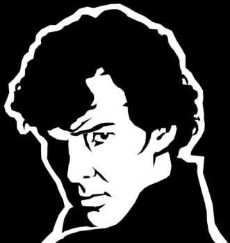 Sherlock Pumpkin Stencil by HolliGenet