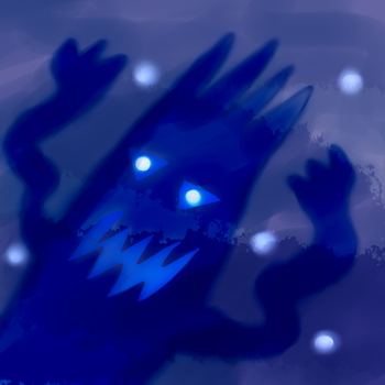 30 day challenge day 3 a bad monster by Kaitorubel