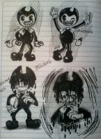 Bendy and the ink machine by Miu-Chan16