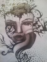Abstract Woman Beauty by CassandraWilson