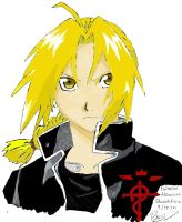 Edward Elric Color by Supa007