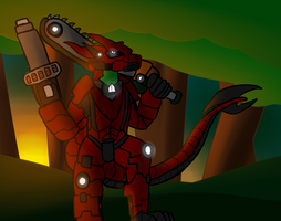 Art trade: Draconian Armour 1.0 by Saragonvoid