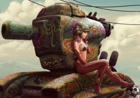 Tank Girl Pepper - B by StMan
