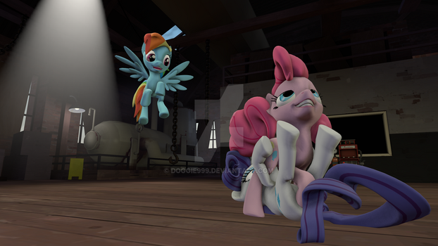 Testing out SFM ( NSFW ) PinkieXRarity and RD? by Doggie999