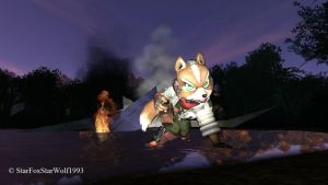 Fox McCloud by StarFoxStarWolf1993