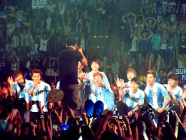 front- SUPER JUNIOR / SS5 Argentina by stockdeana