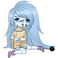 Ghost girl by GriellaAnime