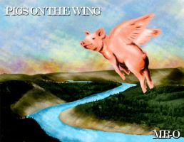 Pigs on the wing by birdmach