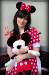 I'm a peaceful Mini Mouse - June 01, 2014 by Naivaan