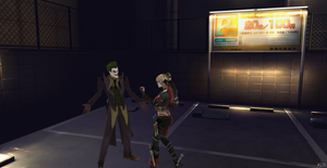 The Joker and Harley by Hatredboy