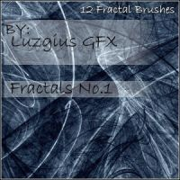 Fractal Brush Set No.1 by LuZGiuS