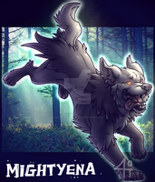 Mightyena by Bandof40Artthieves