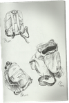 Backpacks sketches by TheAjsAx