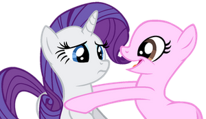 Rarity X OC - MLP Base 162 by Twiily-Bases