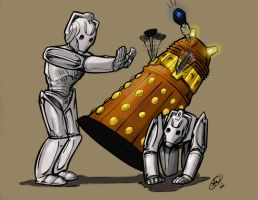 Daleks-are-superiAAAAK! by JZLobo