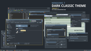 Dark Classic Theme by slybug