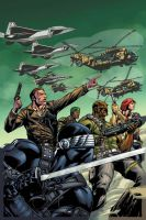 GCC GI Joe 13 variant colors by RobertAtkins