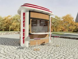 kiosk design by eveyhammondevey