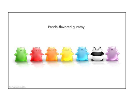 Panda-flavored Gummy by mree