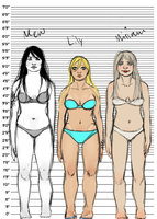 Vocaloid Body Types 3 by BoboSweet