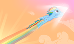 Fastest Flyer in Equestria by IcelectricSpyro
