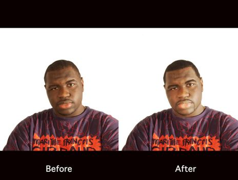 me Before and After by KINGOFTHEGAMEZ