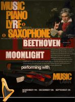 Beethoven (POSTER) by ANC4DES