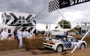 Ford RS200 Rally Car by dhatt1