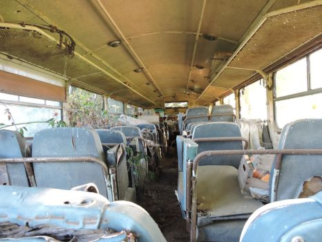 old school bus by RBBOfficial