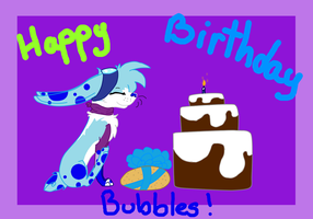 Bubbles B-day ^^ by Spirit-Of-Stella