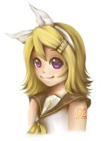 VOCALOID: Kagamine Rin.. again by pikadiana