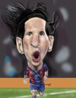 lionel messi by troeks
