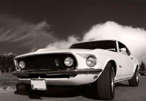 Ford Mustang 1969 by morfeus888