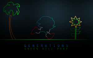 Sonic Generations Green Hill by darkfailure