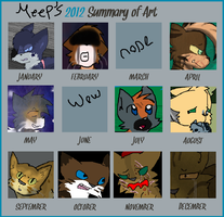 2012 Summary Of Art by Meepalso
