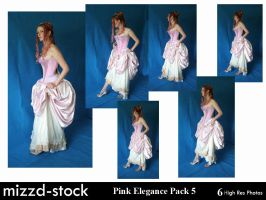 Pink Elegance Pack 5 by mizzd-stock