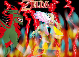 LoZ MLP style Battle of the Forces by KumoriNinja08