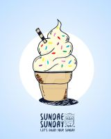 Ice Cream Sundae by GabyAlvareza