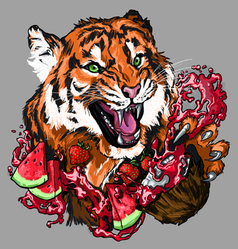 Tiger's Blood - Contest Entry by hannahbird