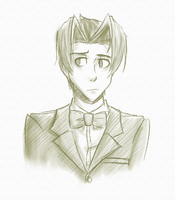 Young lad Edgeworth by TangentialX
