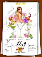 M3 flyer by yanic