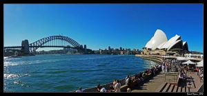Sydney Harbour Panorama by DarthIndy