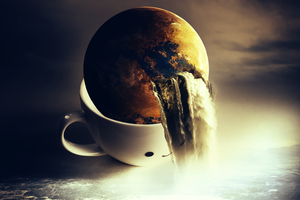 Cup of earth by XxrashxX