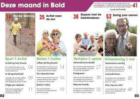 Bold Magazine Contents Page by AngelsWillFallFirst