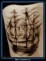 Stormy Ship by ritch-g